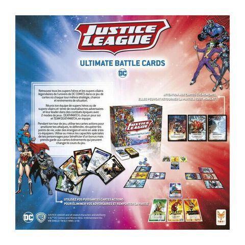 Jeu - Justice League - Ultimate Battle Cards