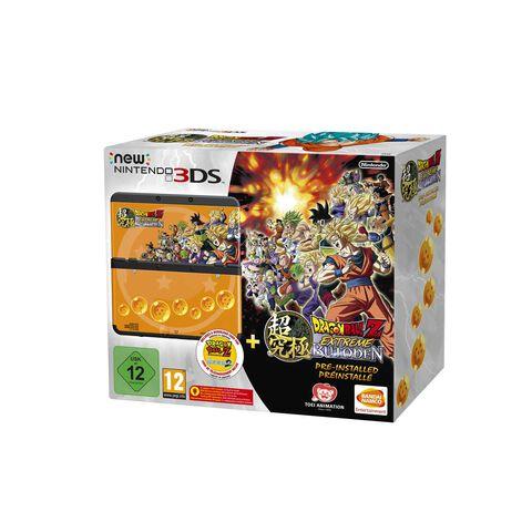 Nintendo New 3ds Noire +dragonball Z Extreme Butoden Préinstallé
