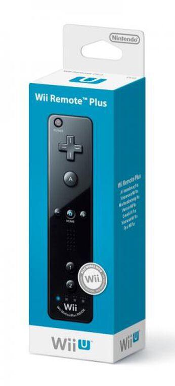 Télécommande Wii U Plus Noire