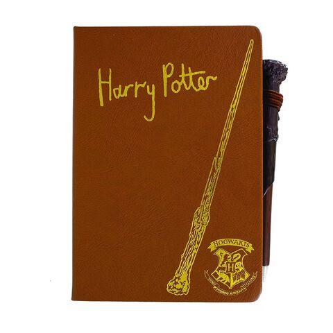 Carnet - Harry Potter - Harry Potter et stylo baguette