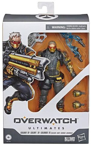 Figurine Ultimates - Overwatch - Soldier 76 (exclusivité Micromania)