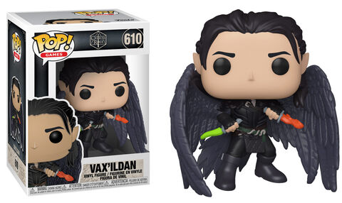 Figurine Funko Pop! N°610 - Vox Machina - Vax'ildan