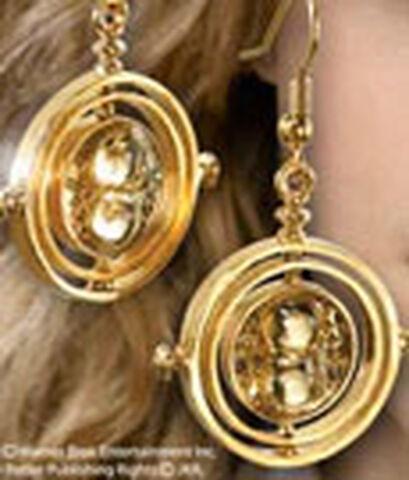 Boucles d'oreilles - Harry Potter - Retourneur de Temps (plaqué or)
