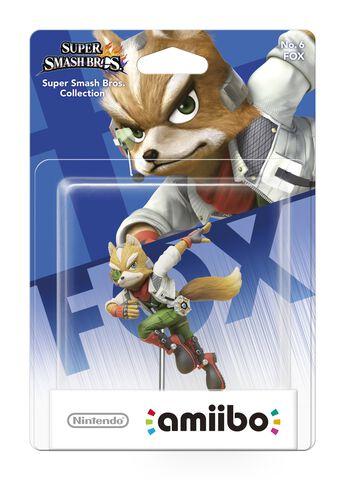 Figurine Amiibo Smash Fox