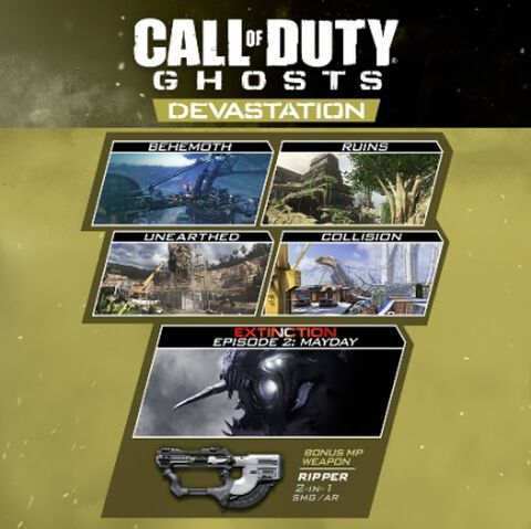 Dlc Call Of Duty Ghosts Devastation