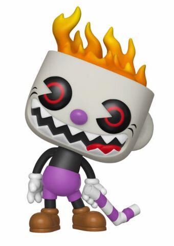 Figurine Funko Pop! N°417 - Cuphead - Evil Cuphead (soulless)