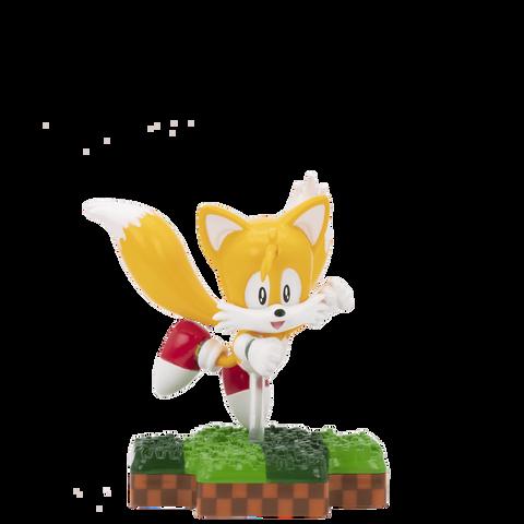 Figurine Totaku N°21 - Sonic - Tails - Exclusivité Micromania-Zing