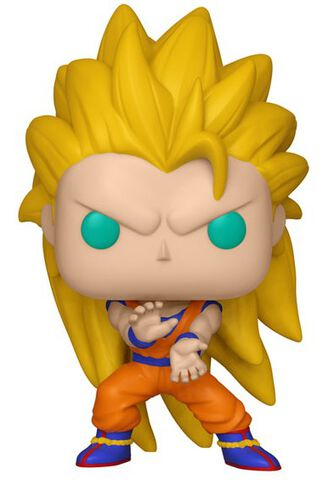 Figurine Funko Pop! N°492 - Dragon Ball Z - Goku Super Saiyan 3 - Exclusivité Micromania-Zing