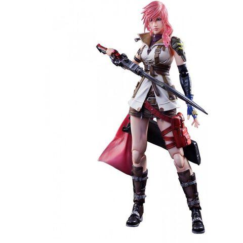 Figurine - Dissidia Final Fantasy - Play Arts Kai Lightning