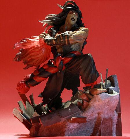 Statuette - Street Fighter - Diorama Evil Ryu Eu Exclusive 34 Cm
