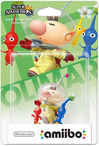 Figurine Amiibo N°44 Smash Olimar & Pikmin