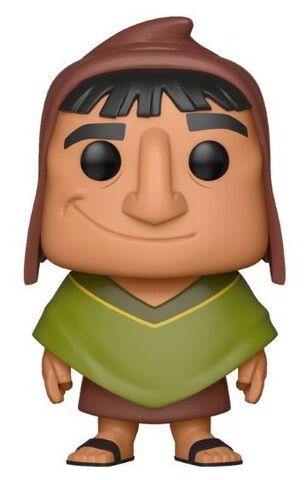 Figurine Funko Pop! N°358 - Kuzco L'empereur Megalo -  Pacha