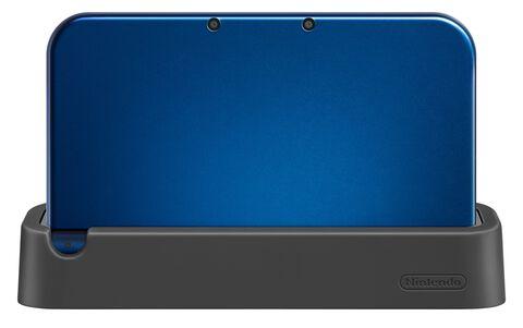 Station de recharge noire New 3DS XL