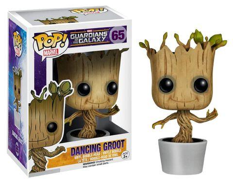 Figurine Funko Pop! N°65 - Les Gardiens de la Galaxie - Dancing Groot