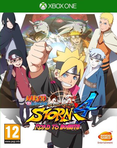 Naruto Ultimate Ninja Storm 4 Road To Boruto