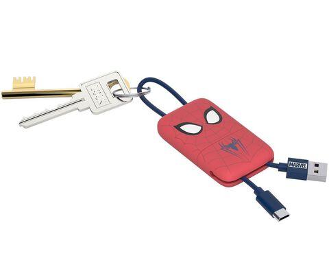 Chargeur Porte-clés - Marvel - Lightning Spider-Man