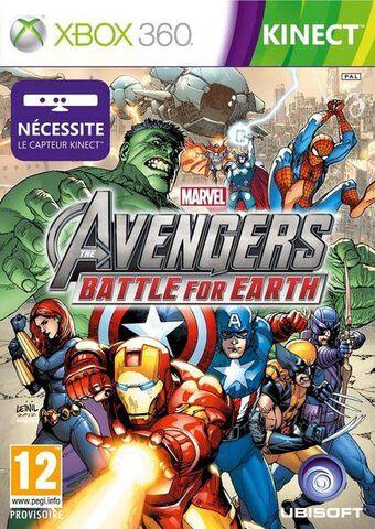 Marvel The Avengers : Battle For Earth (kinect)