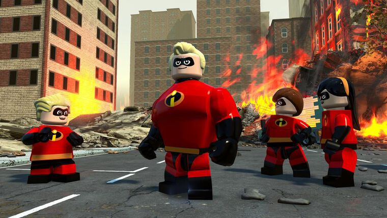Lego Disney Pixar Les Indestructibles