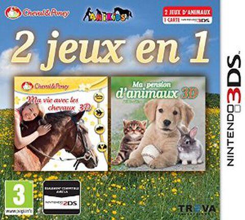2 Jeux En 1 Ma Vie Avec Les Chevaux + Ma Pension D'animaux