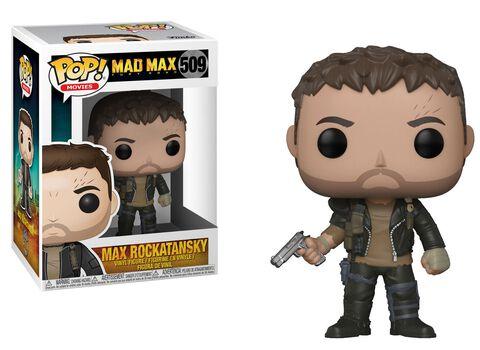 Figurine Funko Pop! N°509 - Mad Max - Fury Road : Max avec gun