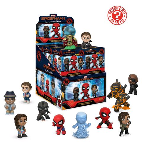 Figurine Mystère - Spider-Man : Far From Home - Mystery Mini Assortiment