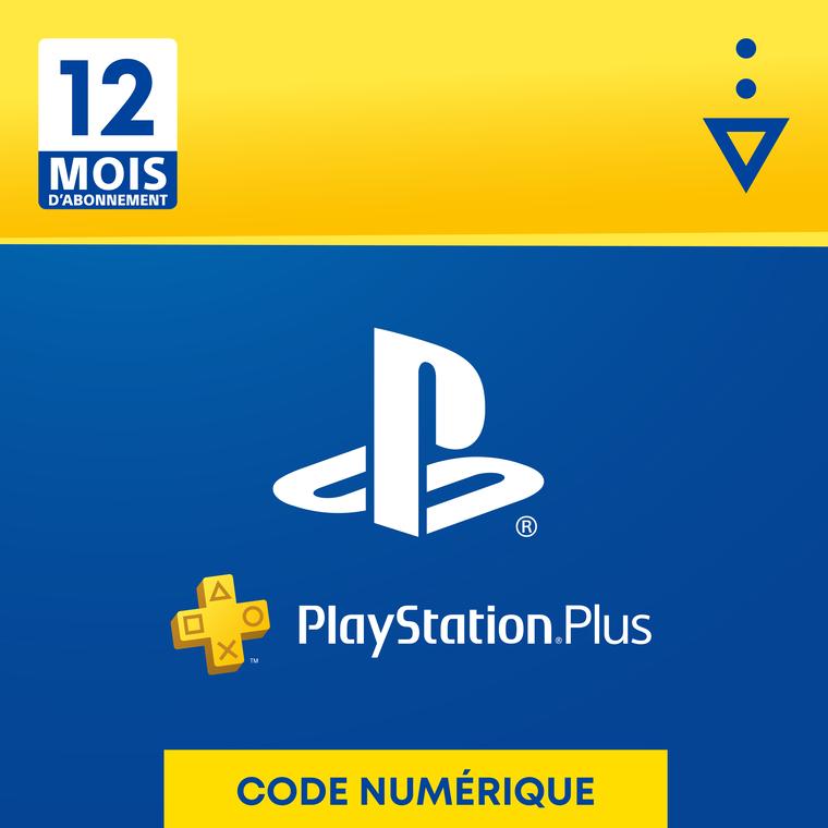 PlayStation Plus pour 1 an - PS5 - PS4 - PS3 - PS Vita