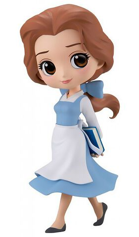Figurine Q Posket - Disney - Belle Country Style Version Pastelle