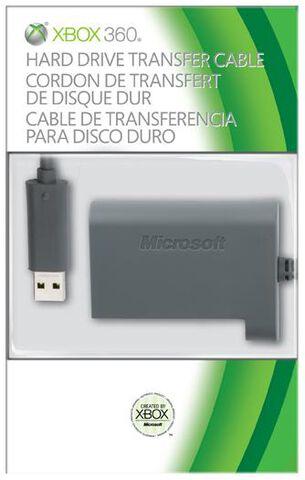 Cordon De Transfert De Disque Dur Xbox 360