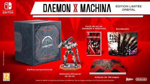 Daemon X Machina Orbital Edition Limitée