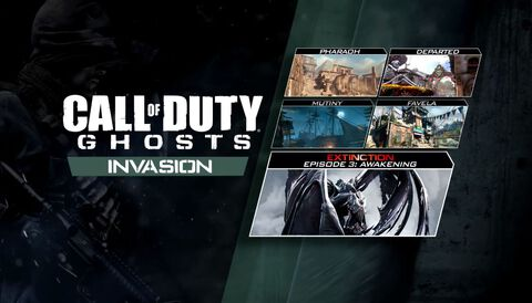 DLC - Call of Duty Ghosts - Invasion PS4