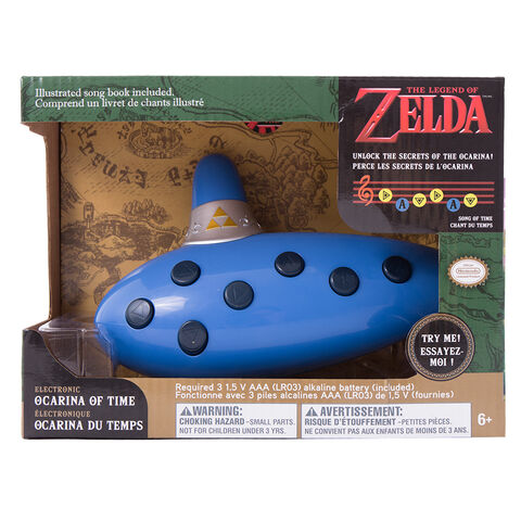 Jouet - Zelda - Ocarina Version 30 ans - Exclusivité Micromania