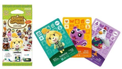 Cartes Amiibo Animal Crossing Happy Home Designer