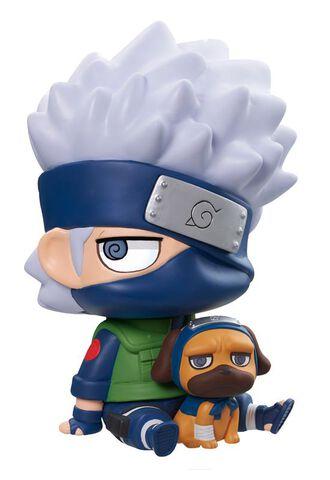 Figurine - Naruto Shippuden - Megahouse Kakashi et Pakkun 15 cm