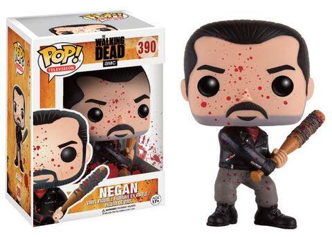 Figurine Funko Pop! N°390 - The Walking Dead - Negan Battle Damaged