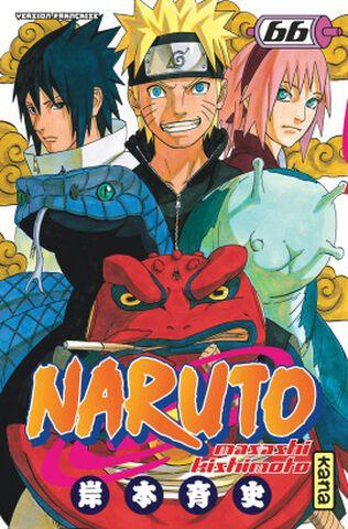 Manga - Naruto - Tome 66