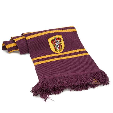 Echarpe - Harry Potter - Gryffondor Pourpre Et Or
