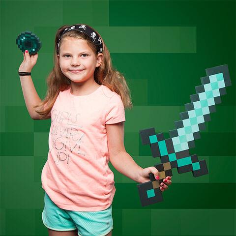 Jouet - Minecraft - Epée avec perle du Ender