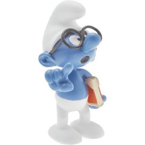 Figurine - Le Schtroumpf à lunettes