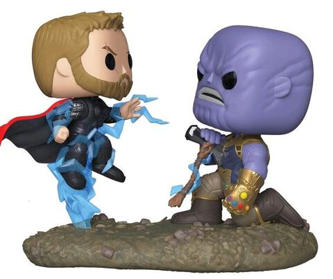 Figurine Funko Pop! Moment N°707 - Marvel - Thor Vs Thanos