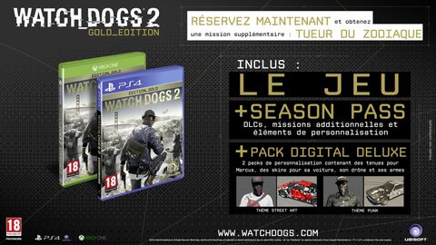 Watch_Dogs 2 Edition Gold