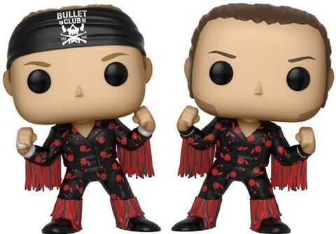 Figurine Funko Pop! - Wrestling - Bullet Club Twin Pack Young Bucks