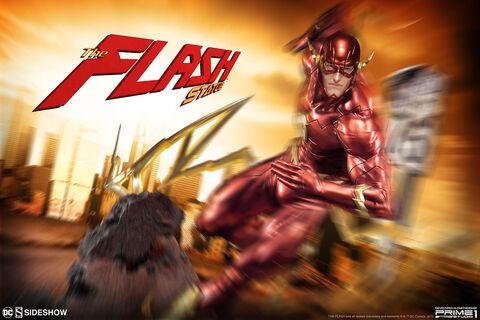 Statuette Sideshow - Justice League New 52 - The Flash 54 cm