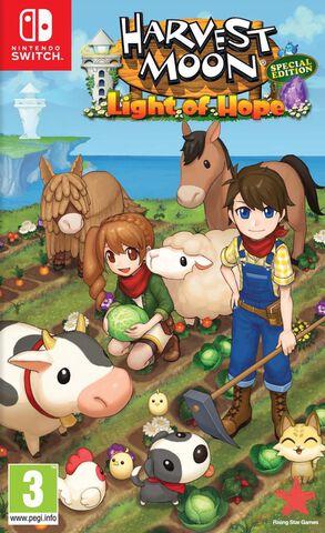 Harvest Moon Lumière D'espoir Edition Spéciale