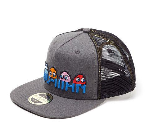 Casquette - Pac Man - Pixel Logo et Characters