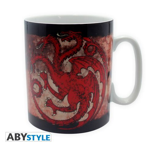 Mug - Game of Thrones - 460 ml - Targaryen