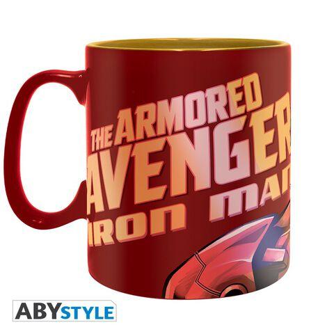 Mug - Marvel - The Armored Avenger Clinquant 460 ml
