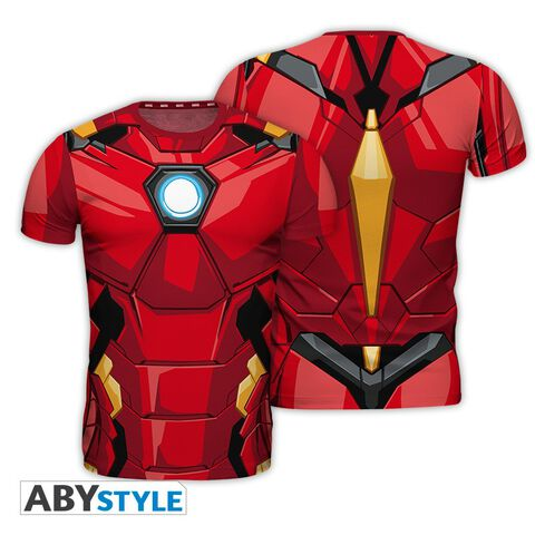 T-shirt Homme - Iron Man - Iron Man - Taille L
