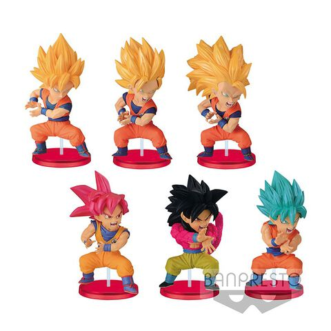 Figurine Mystère WCF - Dragon Ball - Goku Kamehameha - Vol.10