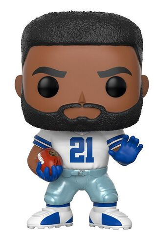 Figurine Funko Pop! N°68 - NFL 4 - Ezekiel Elliott Color Rush (exc)