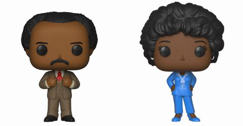 Figurine Funko Pop! - The Jeffersons - Twin Pack George et Louise